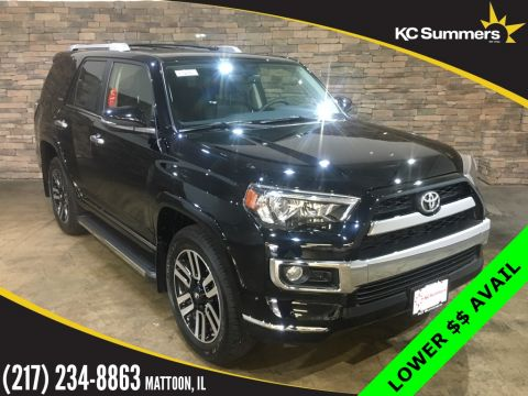 New 2018 Toyota 4Runner Limited 3rd Row
