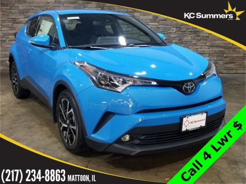 New 2019 Toyota C-HR Limited Audio, Leather Pkg