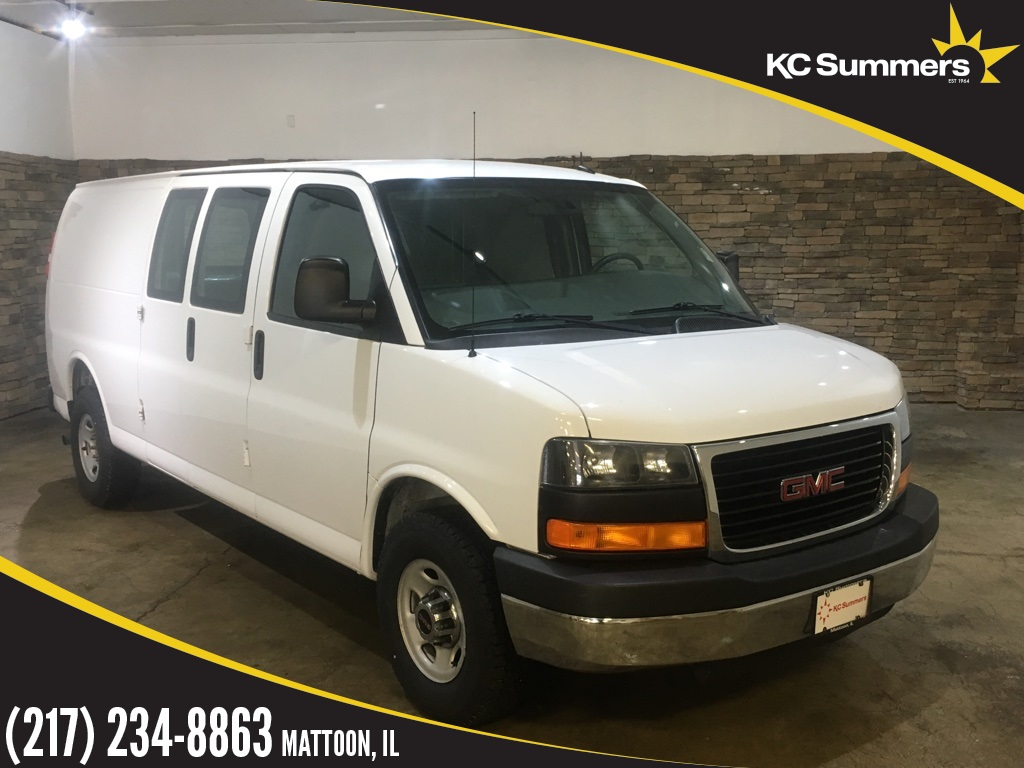 Pre-Owned 2013 GMC Savana 2500 Work Van