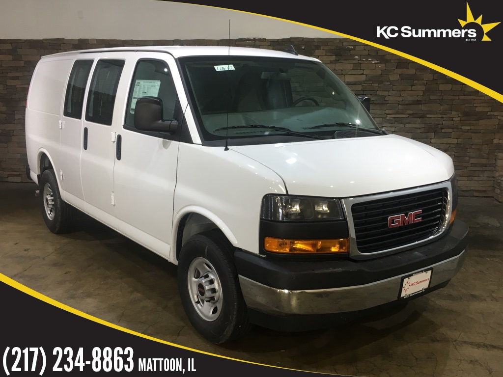 Gmc Savana 3500 >> New 2018 Gmc Savana 3500 Work Van 3d Cargo Van In Mattoon G26713