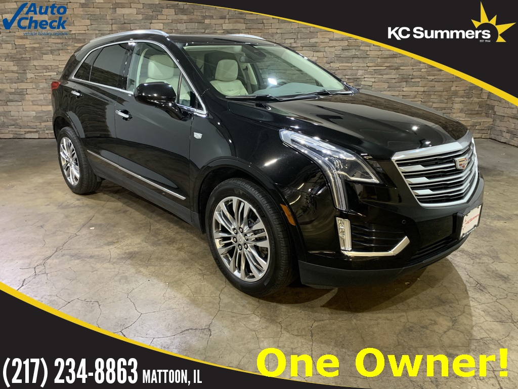 Pre owned 2017 cadillac xt5 premium luxury awd