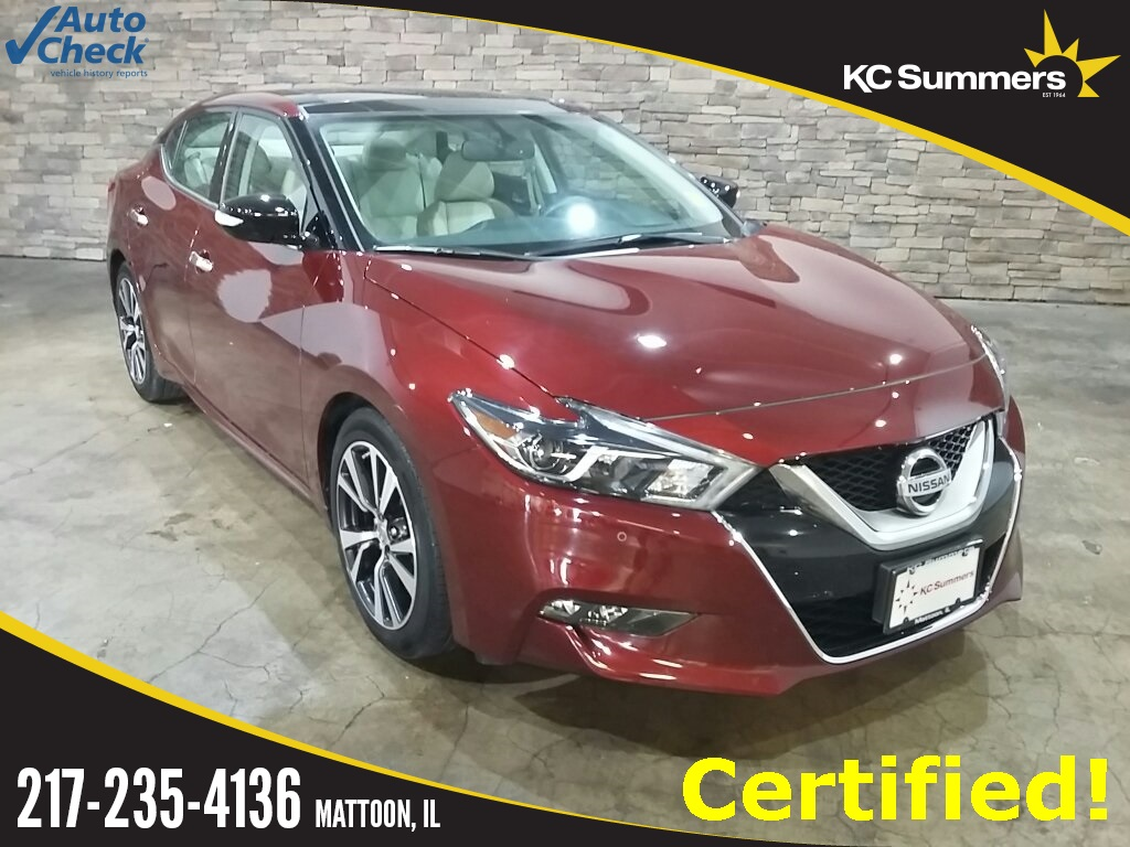 Kc Summers Nissan >> Certified Pre Owned 2017 Nissan Maxima 3 5 Sl Fwd 4d Sedan