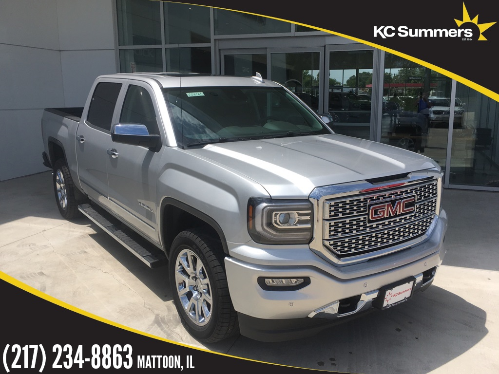 New 2018 Gmc Sierra 1500 Denali 4d Crew Cab In Mattoon G26565 Kc Dual Battery Kit