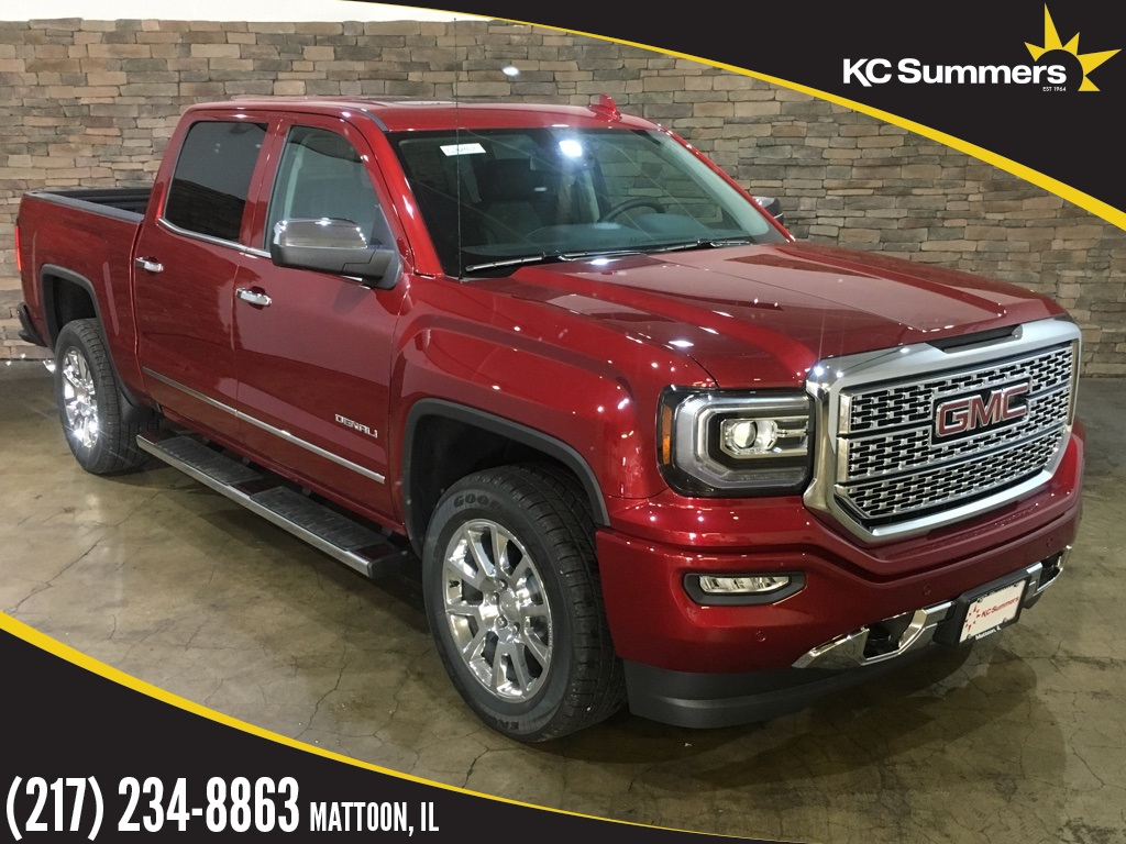 New 2018 Gmc Sierra 1500 Denali 4d Crew Cab In Mattoon G26462 Kc 2003 Transfer Case Identification
