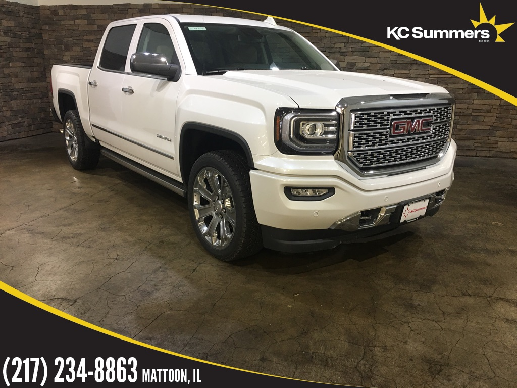 new 2018 gmc sierra 1500 denali 4d crew cab in mattoon g24951 kc summers auto group. Black Bedroom Furniture Sets. Home Design Ideas