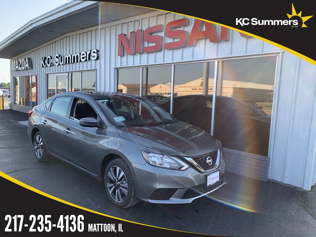 Kc Summers Nissan >> New 2019 Nissan Sentra Sv Fwd 4d Sedan