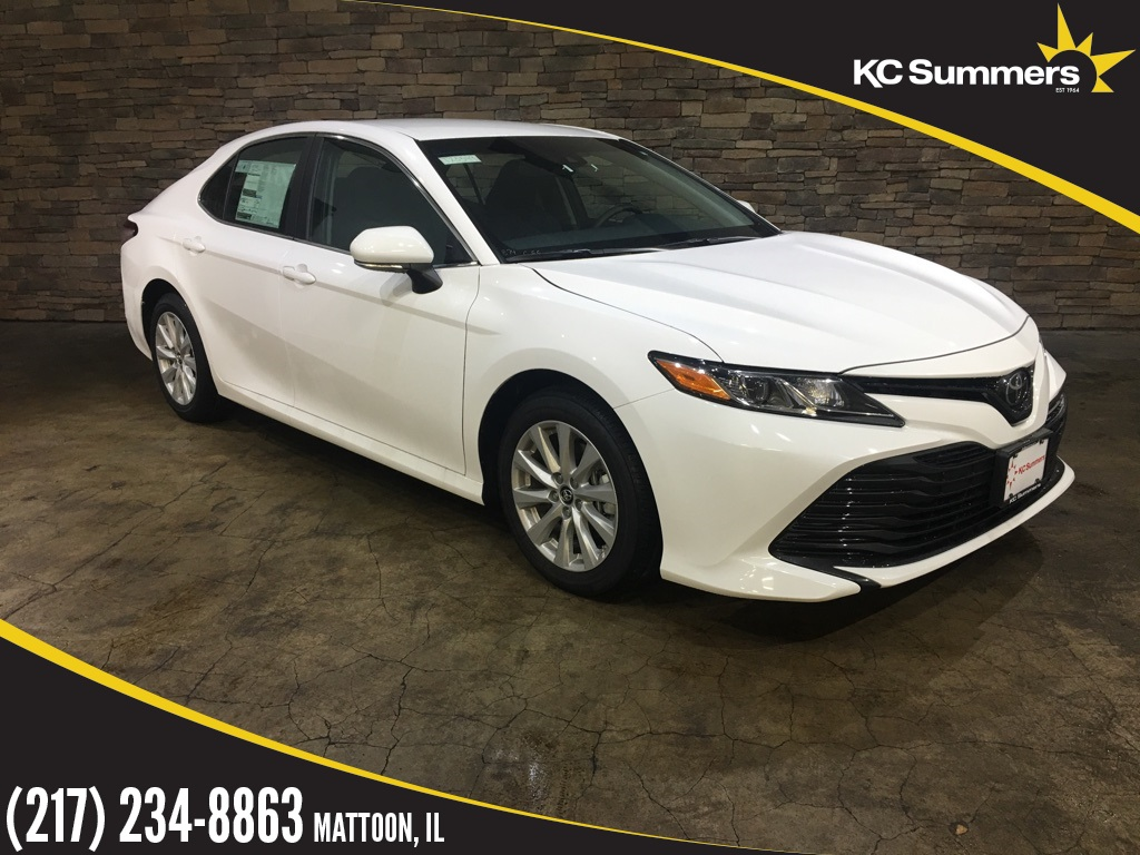 New 2018 Toyota Camry LE Blindspot, Convenience Pkg