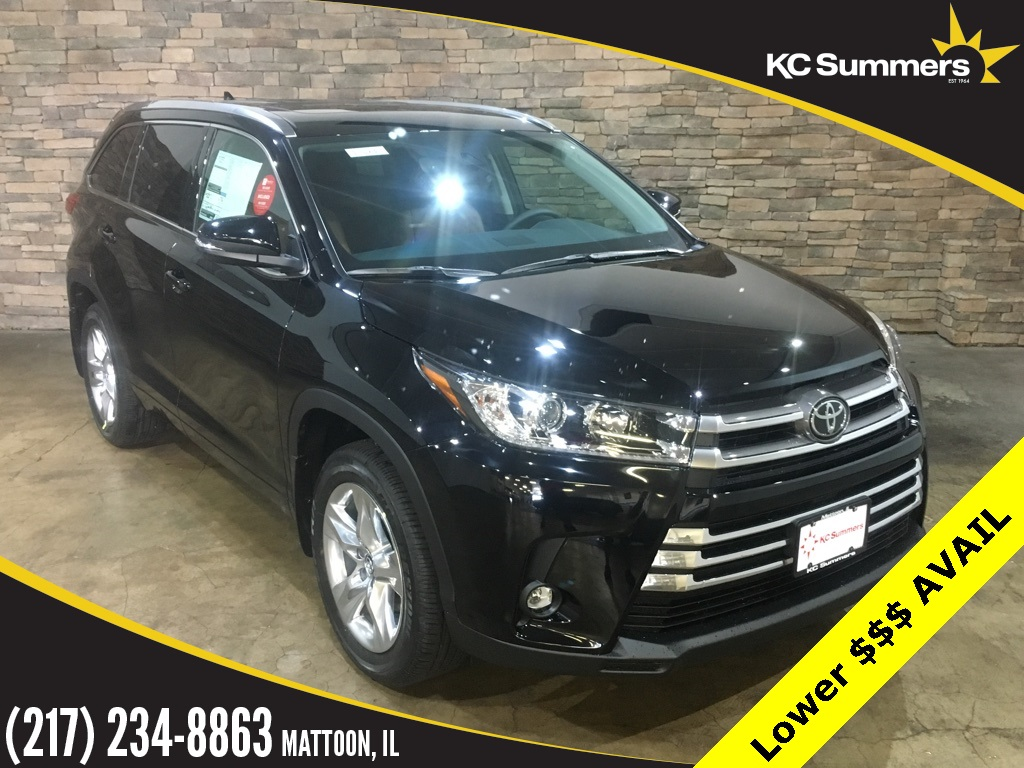 New 2019 Toyota Highlander Limited Dvd Pkg