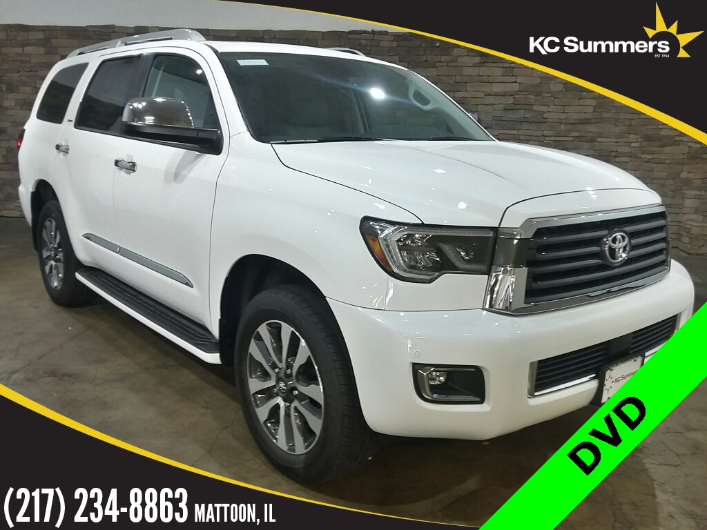 New 2019 Toyota Sequoia Limited Buckets, DVD