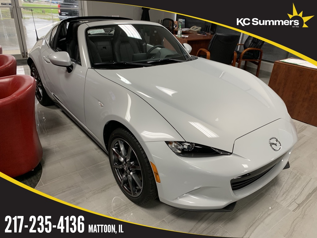 New 2019 Mazda Miata RF Grand Touring RWD 2D Coupe