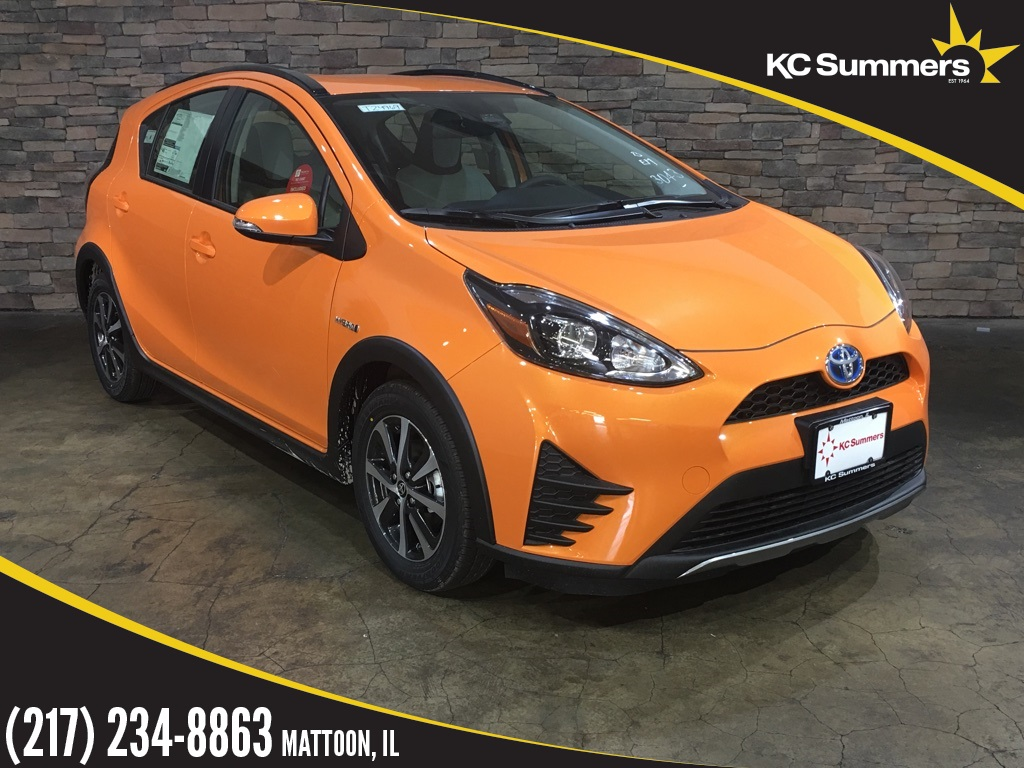 new 2018 toyota prius c one 5d hatchback in mattoon t24969 kc summers auto group. Black Bedroom Furniture Sets. Home Design Ideas