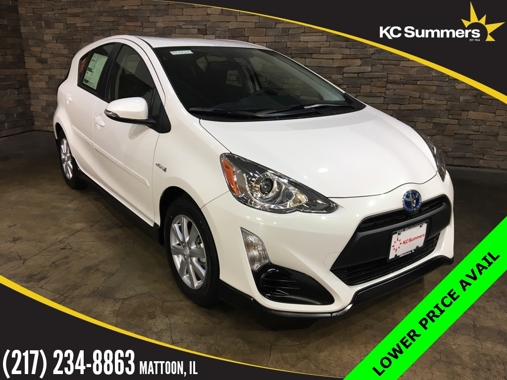 pre owned 2017 toyota prius c two 5d hatchback in mattoon t24465 kc summers auto group. Black Bedroom Furniture Sets. Home Design Ideas