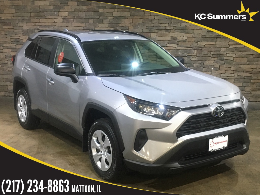 New 2019 Toyota Rav4 Le 4d Sport Utility In Mattoon T27416 Kc