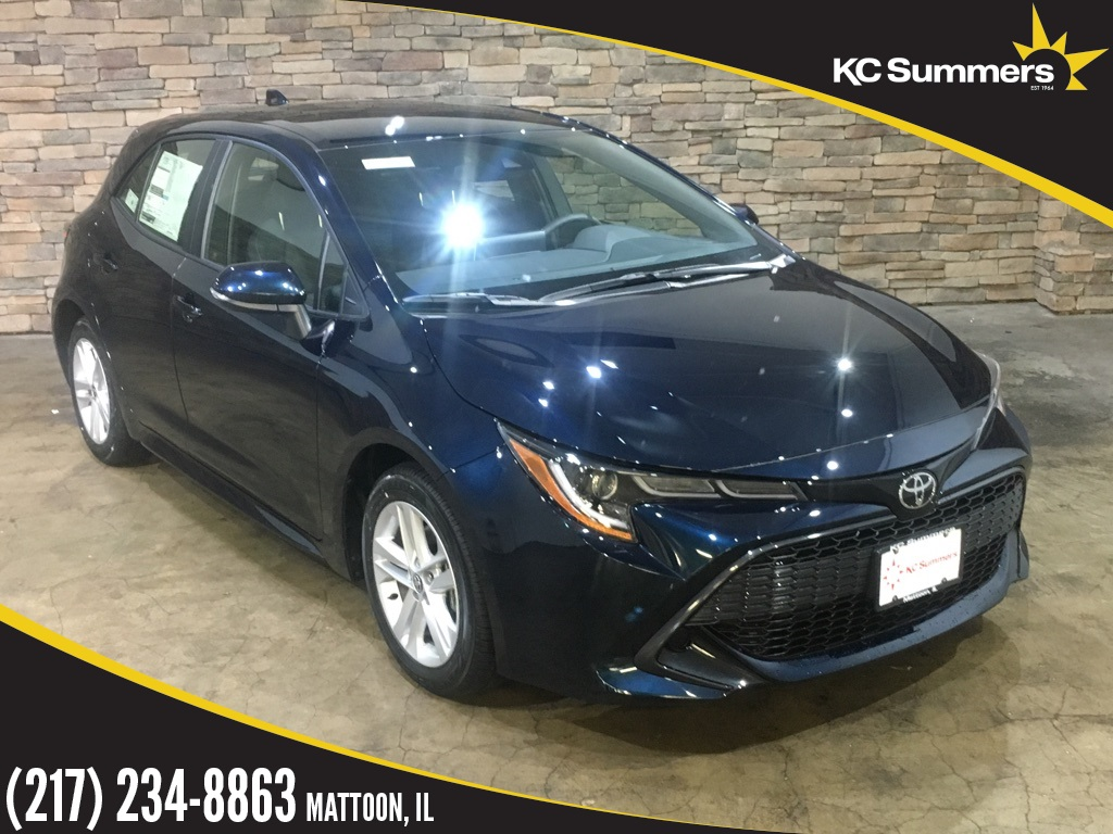 New 2019 Toyota Corolla Hatchback Se 5d Hatchback In Mattoon T27185