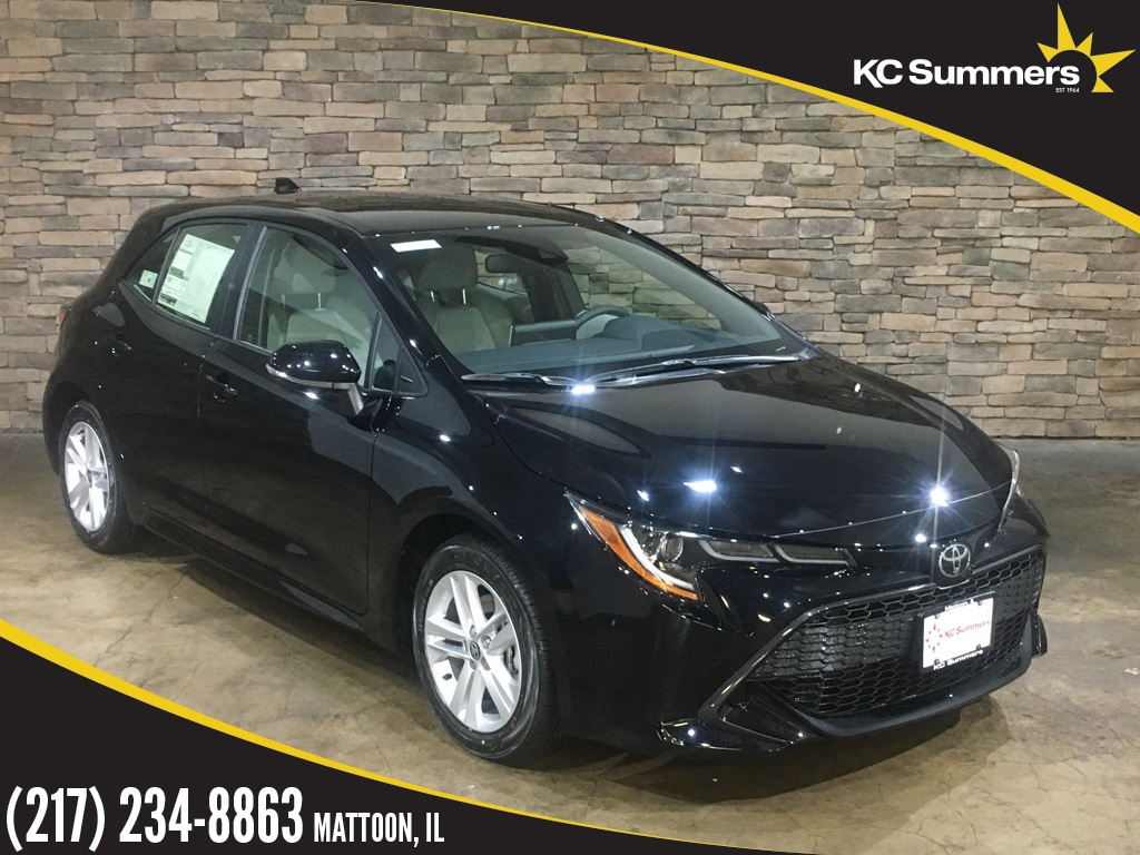 New 2019 Toyota Corolla Hatchback Se 5d Hatchback In Mattoon T27366