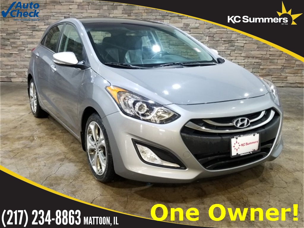 Pre-Owned 2013 Hyundai Elantra GT Base w/Blue