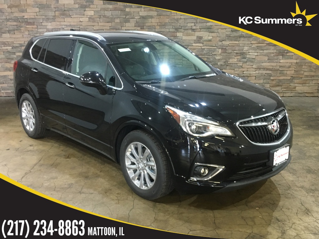New 2019 Buick Envision Essence 4d Sport Utility In Mattoon 26303