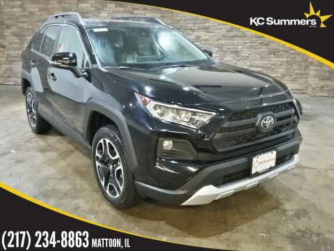 New 2019 Toyota RAV4 Adventure Sunroof, Weather Pkg
