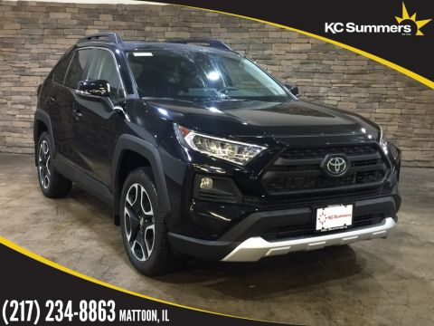 New 2019 Toyota RAV4 Adventure Audio, Sunroof Pkg