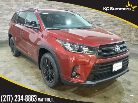 New 2019 Toyota Highlander SE Night Shade