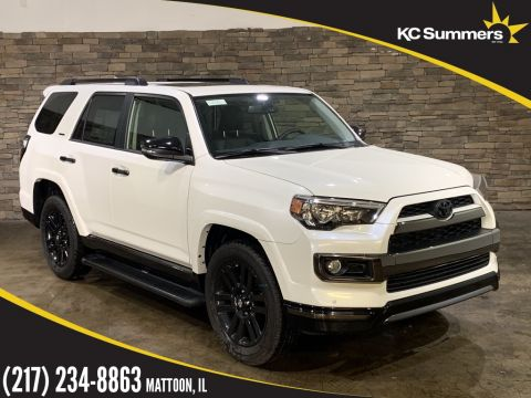 New 2019 Toyota 4Runner Limited Nightshade 3rd Row