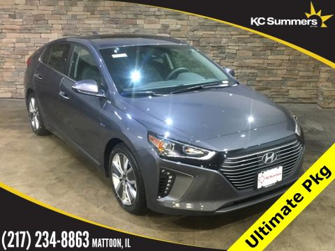 New 2019 Hyundai Ioniq Hybrid Limited Ultimate Pkg